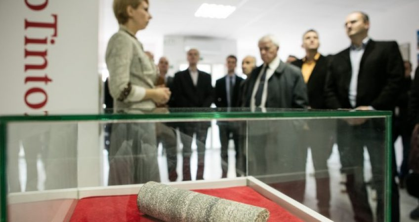 The opening of Information Centre of Rio Tinto in Loznica